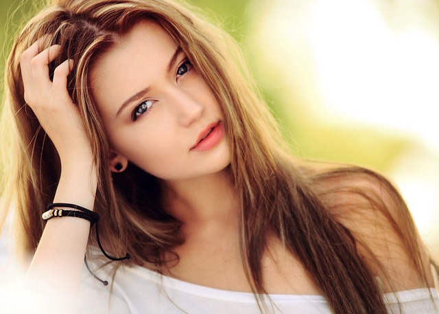 Fair skin girl