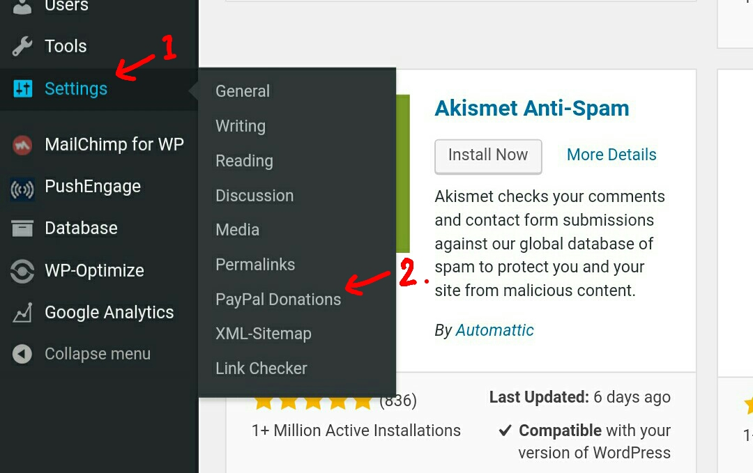 Wordpress Paypal Donation button hindi