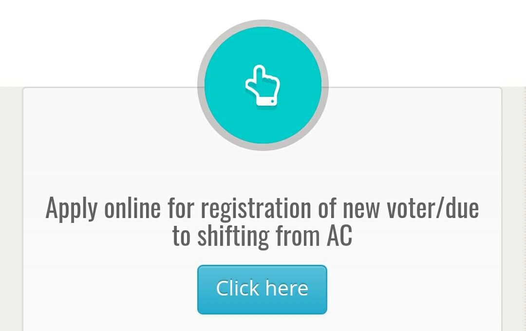 Apply online Voter id