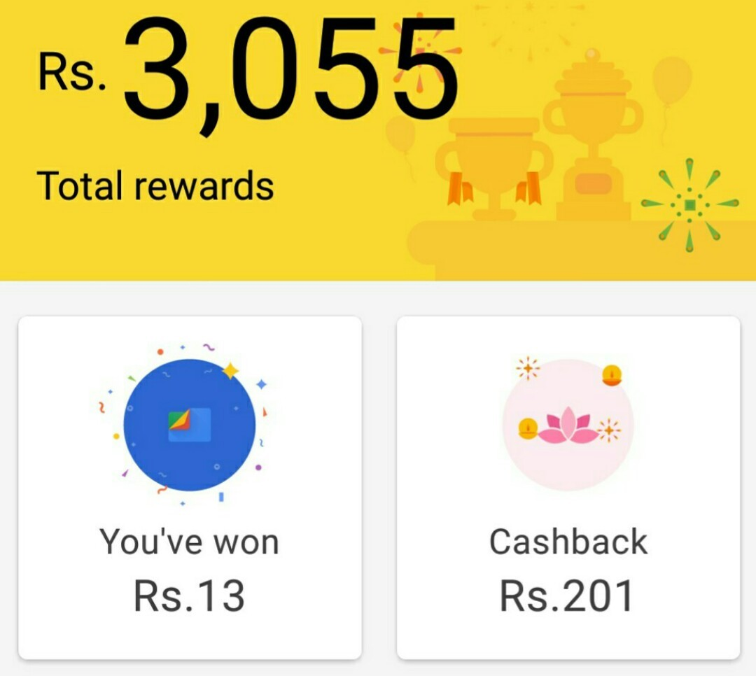 Google Pay Earning Proof 3055