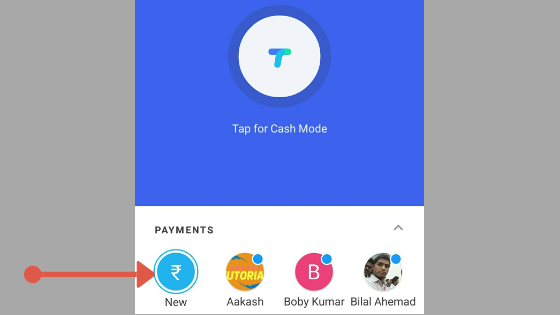 Google Pay App First Transaction