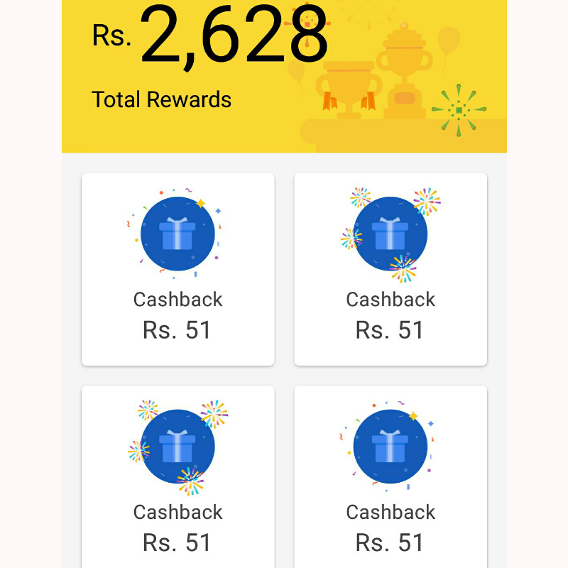 Google Pay payment proof