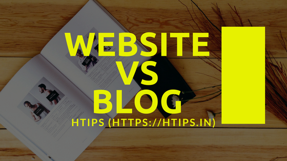 Website aur Blog me antar