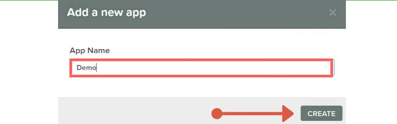 Create project for web push notification