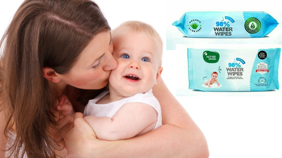 Mother Sparsh Water Wipes For Babies