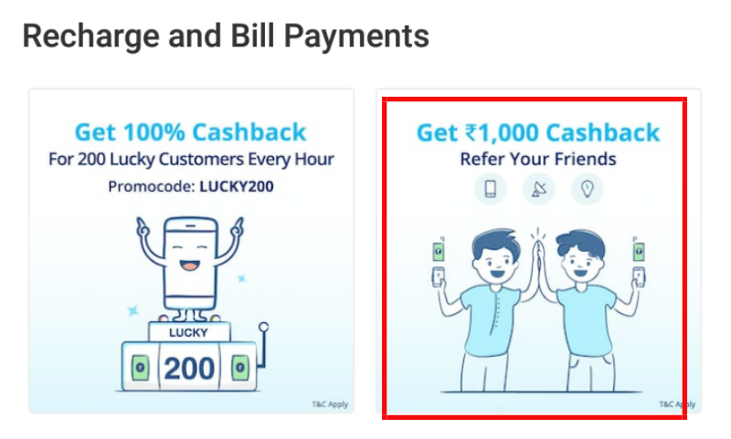 Paytm refer program