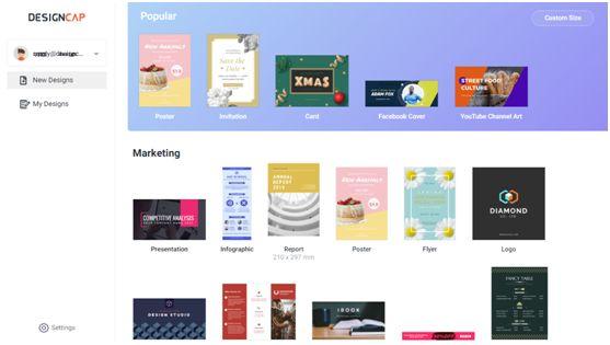 Designcap Infographic design