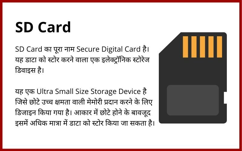 SD Card in Hindi